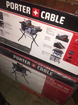Portercable 10 inch table saw brand new for Sale in Dearborn, MI