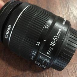 Canon 18-55mm lens (make An Offer) for Sale in Morrow,  GA