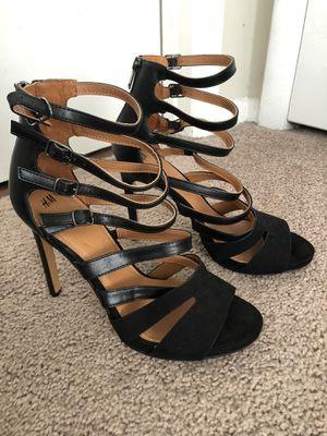 H&M Brand 4 inch Black Heels size 41 for Sale in Bristow, VA