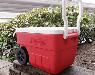 Coleman Cooler, Wheeled for Sale in Lacey,  WA