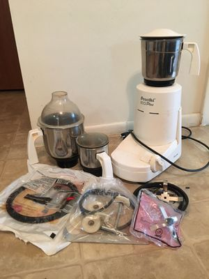 Preethi Eco plus mixer grinder with extra blades for Sale in Woonsocket, RI