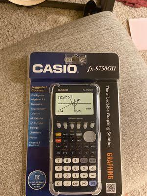 Casio fx-9750GII for Sale in Riverside, CA