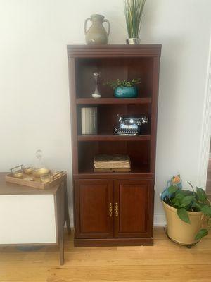 2 Bookshelves with doors for Sale in Oak Glen, CA