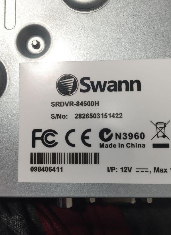 Swann SRDVR-84500H $48