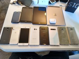 Phones and tablets for Sale in Dallas, TX