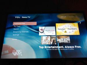 """32 TCL Roku Smart TV [Read Description] for Sale in Orlando, FL"