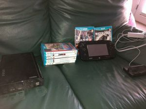 Nintendo Wii U Bundle With 9 games one downloaded to the Wii U and original box for Sale in Henderson, NV