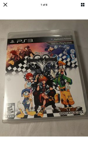 Kingdom Of Hearts Hd 1.5 Remix Ps3 SPOTLESS EXCELLENT CONDITION for Sale in Los Angeles, CA