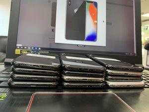 IPhone X unlock 64 gb to 256 gb unlock for Sale in Boston, MA
