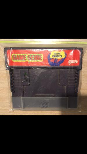 Game genie Super Nintendo for Sale in Spokane, WA