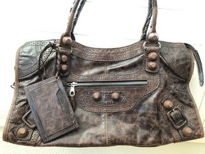 Brown Distressed Leather Hobo Bag/ Purse for Sale in Albany, CA