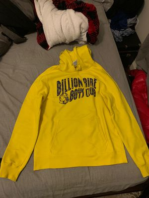 Yellow & blue BILLIONAIRE BOYS CLUB hoodie size XL for Sale in Congers, NY