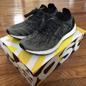 Brand new adidas ultraboost uncaged black grey low size 8.5 for Sale in Sterling, VA