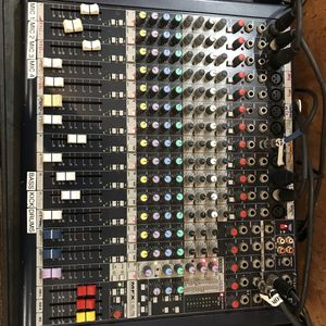 Used 12 channel MFX 12/2 mixer for Sale in Lynn, MA