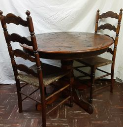 "Shocked Up 38"" Table And 2 Chairs for Sale in Fairmont,  WV"