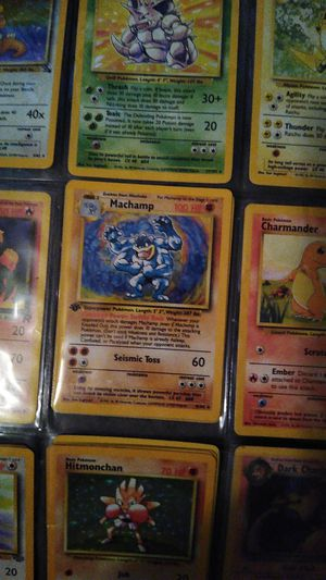 Pokemon first edition for Sale in Lakeland, FL