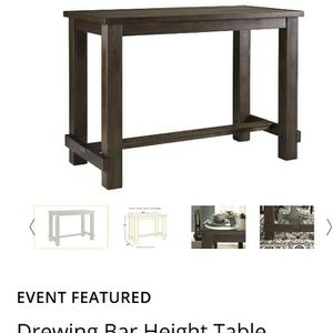 American Warehouse Bar Height Dinning Room Table Only for Sale in Chandler, AZ