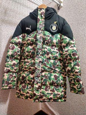 BAPE x Puma ABC Camo Down Jacket (Green) for Sale in Madison Heights, MI