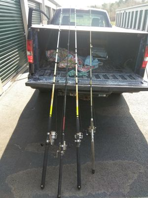 Fishing rod combos for Sale in Petersburg, VA