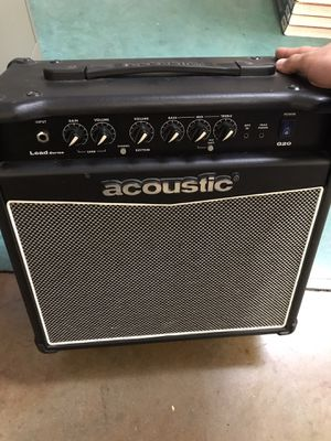 Acoustic brand G20 guitar combo amp for Sale in Maywood, CA