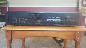 DJ amplifier 2500watt for Sale in Chillum, MD