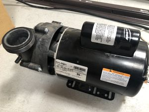 Balboa Hot Tub Spa Pump - 2 speed 2.5hp for Sale in Scottsdale, AZ
