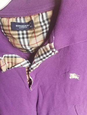 Purple Burberry Shirt for Men (100% Authentic) for Sale in Phoenix, AZ