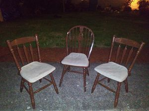 wooden chairs for Sale in Vancouver, WA
