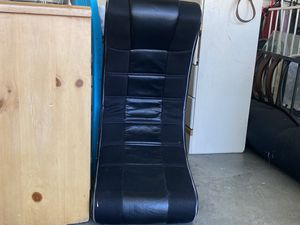 Black gaming chair for Sale in Las Vegas, NV