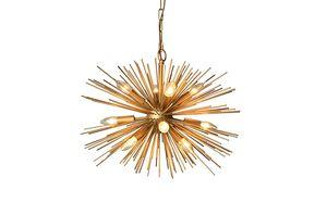 12-Lights Gold Finish Sputnik Chandelier for Sale in Henderson, NV