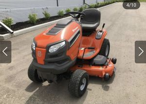 Husqvarna with Snow plow for Sale in North Haven, CT