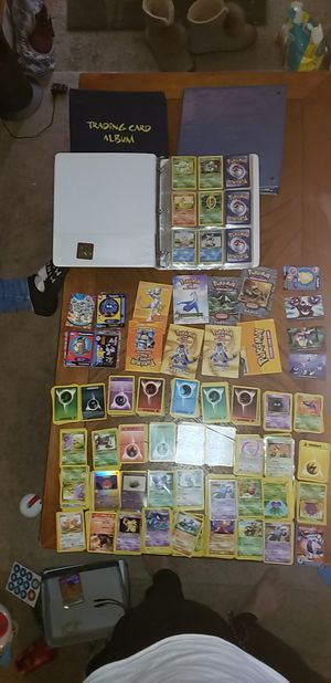 Pokemon cards game manuals card list poke trivia for Sale in Bloomingdale, IL