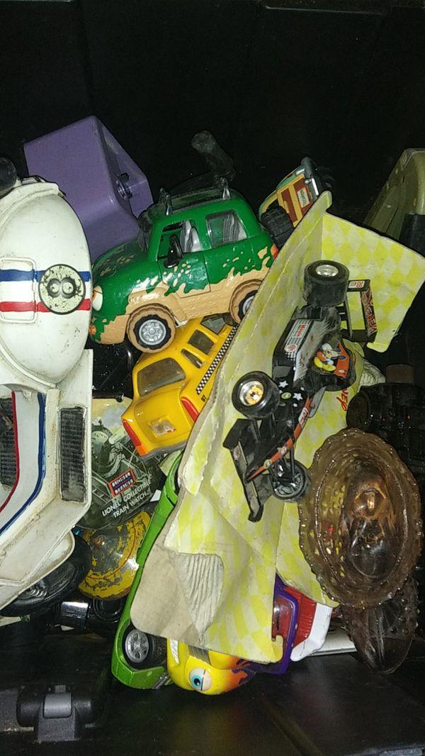 Big Box Of Diecast Toys