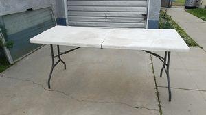 Folding table for Sale in Bakersfield, CA