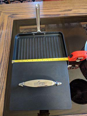 All Clad cast iron panini press for Sale in Novato, CA