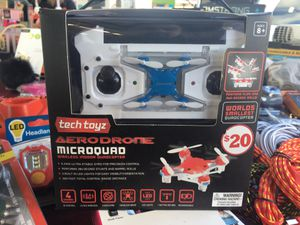 Drone Tech Toyz Aerodrone Microquad 6 Axis 2.4 Ghz Wireless Indoor Quadcopter for Sale in Concord, NC