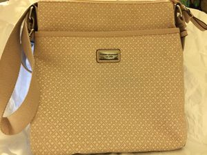 Two Small Beige and Denim Tommy Hilfiger Crossbody Bags for Sale in Garrison, MD
