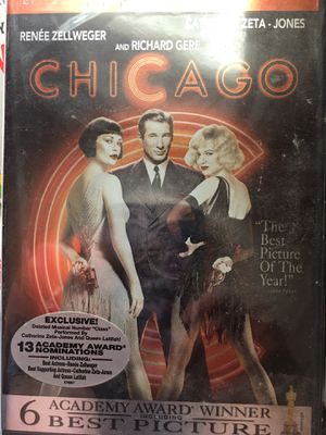 "Dvd.. not opened.. popular musical ""CHICAGO"" for Sale in Saint Paul, MN"