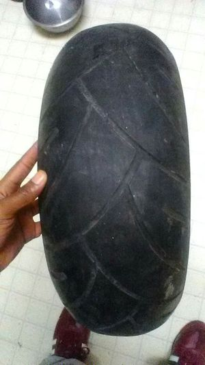 I have a 190/50 Shinko rear wheel tire for motorcycle for Sale in Columbus, OH