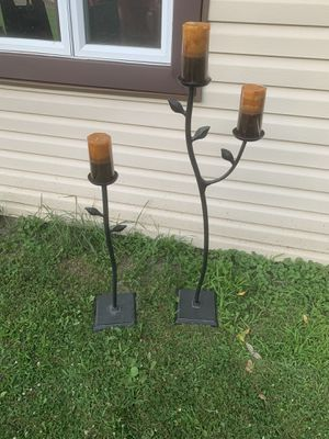 2 Candle holders for Sale in Palos Park, IL