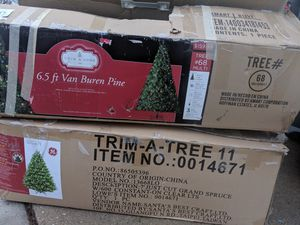 Christmas trees $40 each for Sale in Hyattsville, MD