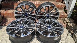 """2018 Ford F150 18"""" OEM Sport Model Rims Full Set Of 4 - BLACK/GUNMETAL for Sale in Charlotte, NC"""