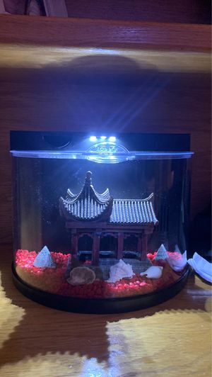 fish tank with led light for Sale in Norwalk, CT