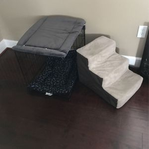 Dog Crate And Stairs for Sale in Woodbridge, VA