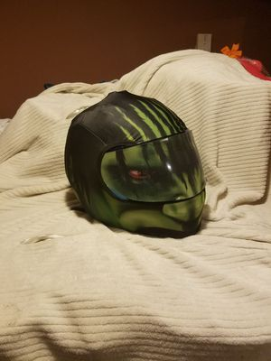 Hulk motorcycle helmet for Sale in Cumberland, RI