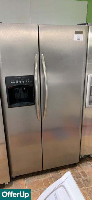 Frigidaire Refrigerator Fridge Side by Side Stainless Steel #779 for Sale in Pine Hills, FL