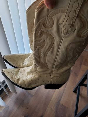 Cowboy Boots (Ostrich skin) size 8 for Sale in Mesa, AZ
