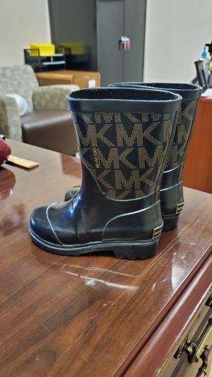 Micheal Kors rain boots kids for Sale in Grand Prairie, TX