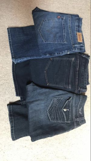 Lot of 3 brand jeans size 12 for Sale in West Springfield, VA