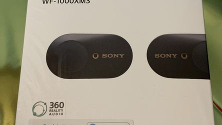 Sony WF-1000XM3 Industry Leading Noise Canceling Truly Wireless Earbuds Headset for Sale in Rockville,  MD